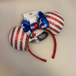 Disney Minnie Mouse Patriotic Ears